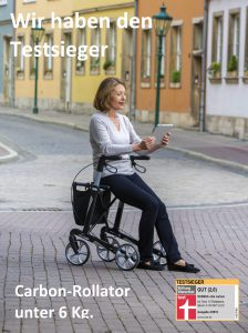 Rollator vital carbon Anw 2 Print schrift 2